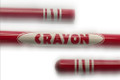 Appearing Crayon w/ Tip, Red - 4 Feet