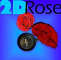 2D Rose w/ Reel