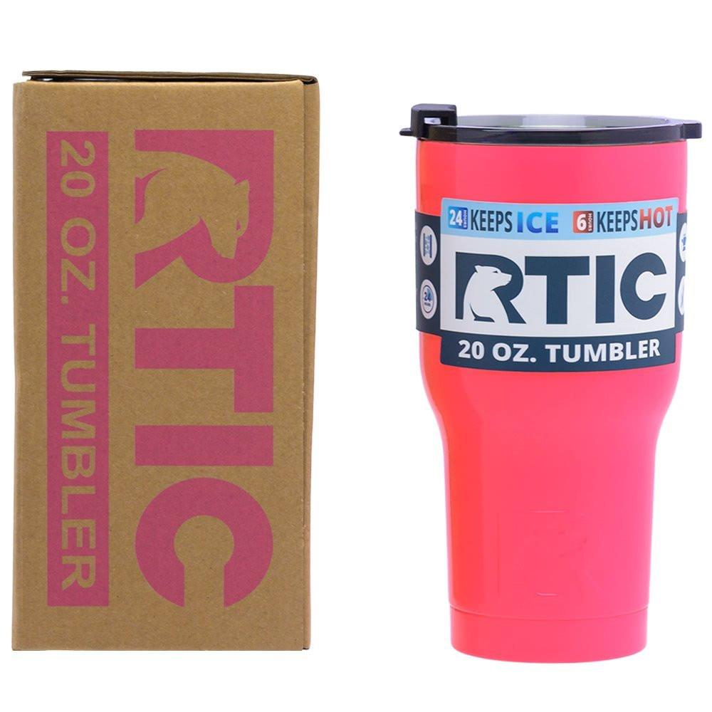 RTIC 20 oz. Tumbler - Pink