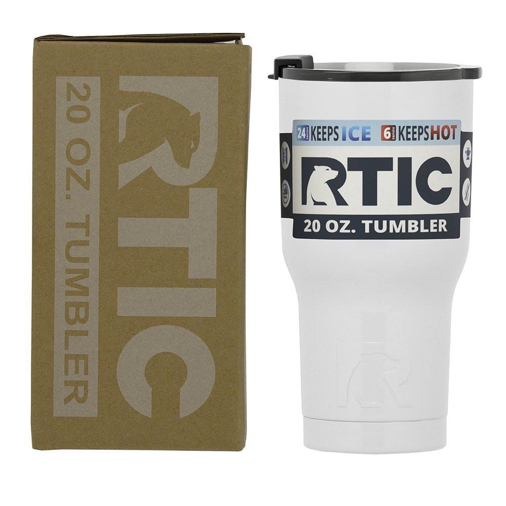 RTIC 20 oz. Tumbler - White
