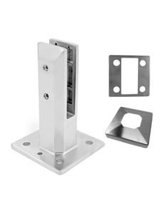 SP5SQADJFRBS Square Adjustable Friction Fit Spigots in Brushed Nickel Finish
