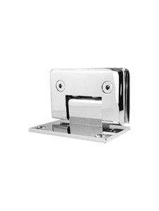 SHOPAWMBN Wall Mount Offset Back Plate Hinge in Brushed Nickel Finish