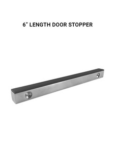 DS412x12x6BS Door Stopper in Brushed Finish