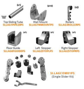 LAG Set B: Polished Stainless Steel