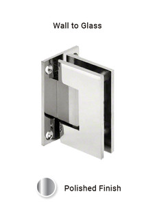 SHV91WGCP Wall Mount Hinge in Chrome Polished Finish