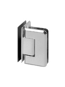 SHPAGG90BN Glass to Glass Hinge 90 Degree in Brushed Nickel Finish
