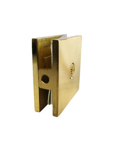 GC111EDGP (Gold Polished)  Wall to Glass Connector