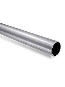 RB1BN - 1 mtr Round Bar Only for Support Bar in Brushed Finish