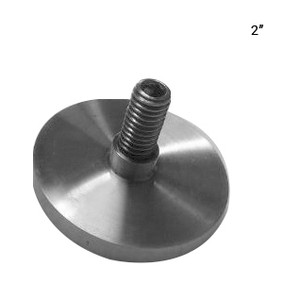 "S068532095CPS CAP FOR 2"" STAND OFF in Polished Finish"