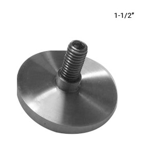 "SO68541595CPS 1-1/2"" Dia Cap in Polished Finish"