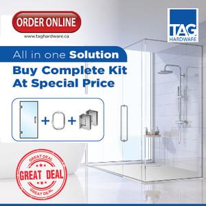 Stock Door Complete Shower Kit - 2 (Door Height 78 - 82)