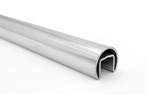 "TU6LEDRD16CRBS LED CAPRAIL TUBE 1.66"" DIA, 1.6 M LONG in SS316 Material BRUSHED FINISH"