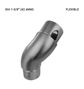 EB63314220OBS ELBOW  ROTATING CONNECTOR SS316 FOR 42.4 DIA  X 2.0 MM