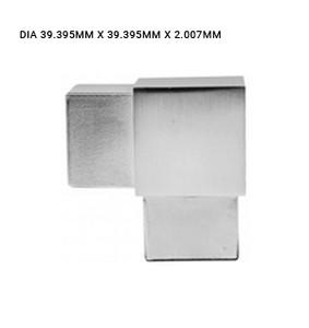 EB63764020EBS 90-DEGREE ELBOW SQUARE SS316