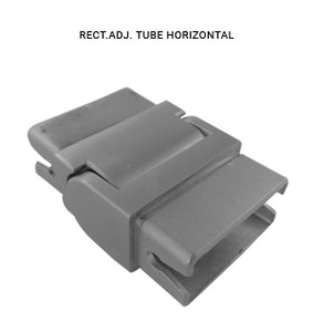 EB43852515AVBS RECTANGLE ADJUSTABLE TUBE HORIZONTAL IN SS304