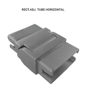 EB43852515AVBS RECTANGLE ADJUSTABLE TUBE HORIZONTAL IN SS304