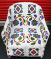 "Nigerian Beaded Chair ""C"""