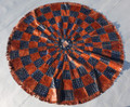 Circular Niger Leather Mat H