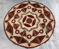 Circular Niger Leather Mat i
