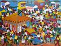 Tinga Tinga Busy Streets of Kariakoo