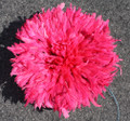 Cameroon Juju Hat: Pink 18 inch