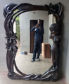Mukwa Wood Mirror