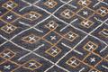 Kuba Raffia Square 3
