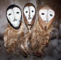 3 Lega Tribe Mask Set