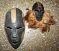 Lele Tribe African Accent Mask Set