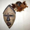 BaLuba Lwalwa Tribe Mask Set
