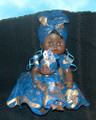 "Senegalese Mama and Baby: Doll Set ""B"""