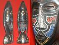 Ghana Crafts: Ghana Standing Mask 2