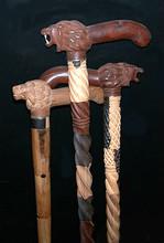 Lion head canes