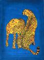 Kenyan Batik: Cheetah!