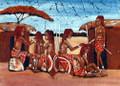 Maasai Batik: Braiding