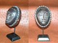Miniature Masks w Stands: Yaure Tribe Mask