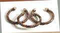 Niger Tri Metal Bracelet