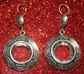 Tuareg Eye of the Chameleon Earrings