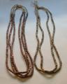 Yoruba Brass and Copper Necklaces