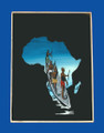 Africa Glass Painting: Sousverre