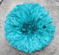Cameroon Juju Hat : Teal 19 inch