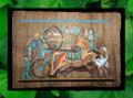 Egyptian Papyrus Art: Rameses on a Hunt