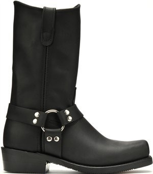 Double H Barry 4008 's 11 Inch Black Harness Boot