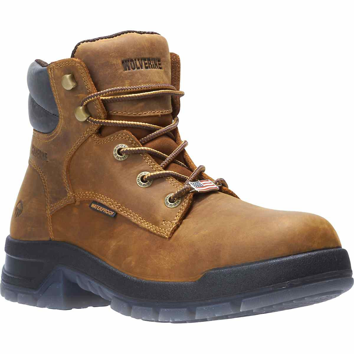 e38ccb3aea2 Ramparts 6 Inch Tan Waterproof Soft Toe Boot 190019