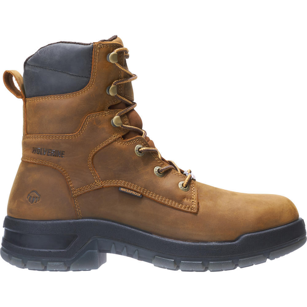 d00ff03b859 Ramparts 8 Inch Tan Waterproof Composite Toe Boot 191051