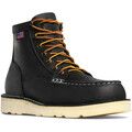 Danner Men's Black Bull Run Moc Safety Toe Boot- 15569