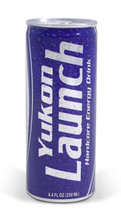 Yukon LAUNCH Hardcore Energy Drink, classic flavor