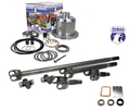 Yukon 30 spline 4340 Chrome-Moly axle & Zip Locker kit for Jeep TJ, XJ, YJ & ZJ.