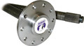 """Yukon rear axle for '07-'10, 34 1/8"""" long, 1.705"""" bearing, includes ABS ring"""