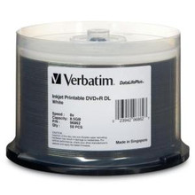 Verbatim DVD+R Datalife Discs, Spindle of 50